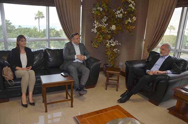 Halk Bankası Müdürü Ülker İTSO'yu Ziyaret etti