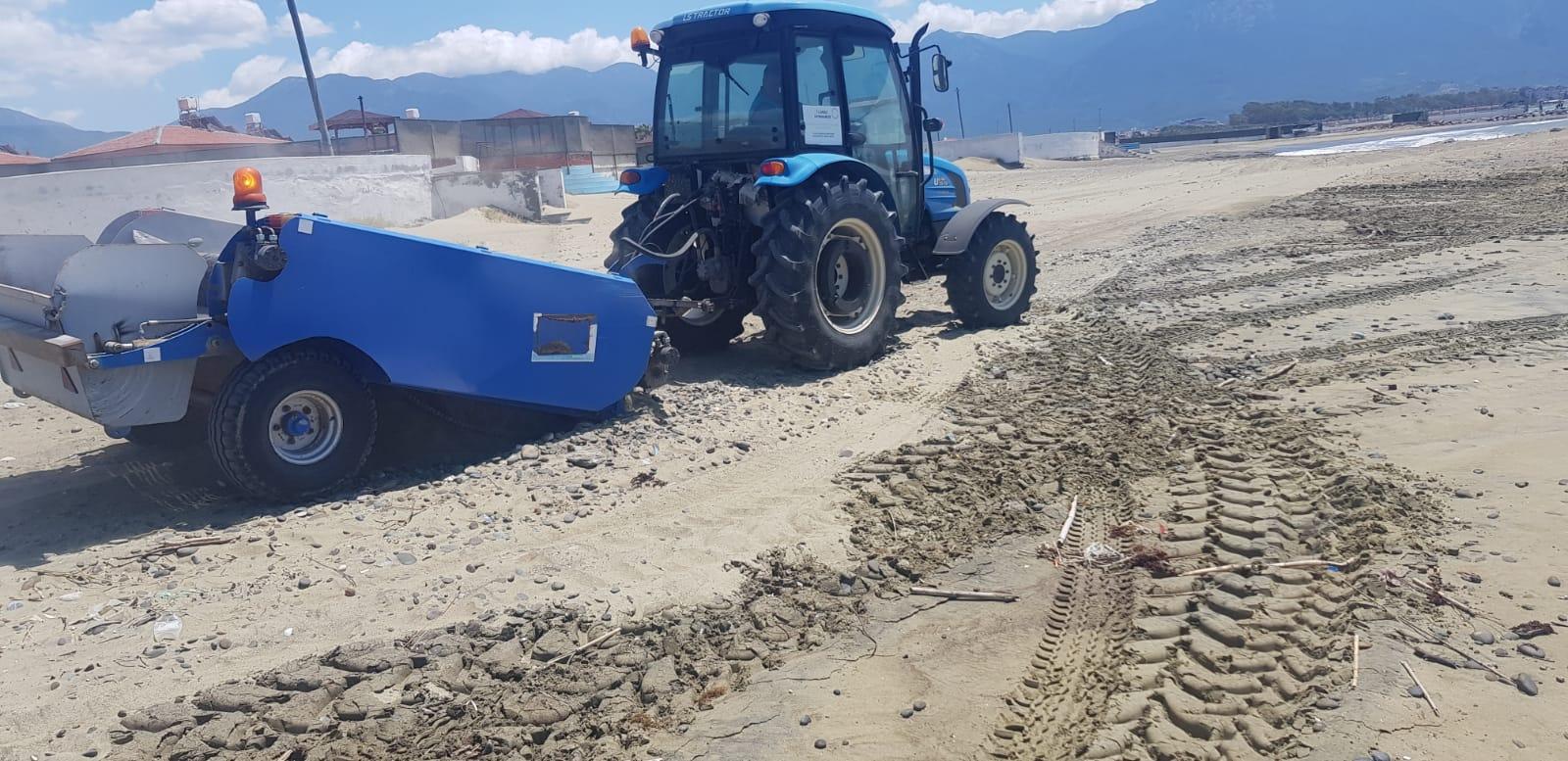 Arsuz'da Temizlik Çalışmaları Devam Ediyor