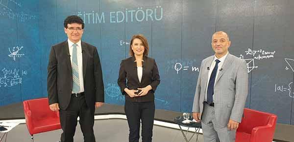 İSTE Rektörü Prof. Dr. Türkay Dereli TRT Haber'e Konuk Oldu