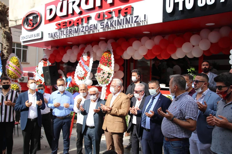 Urfalı Sedat'ın 17. Şubesi Denizciler'de Nafi Şanlı, tarafından hizmete açıldı