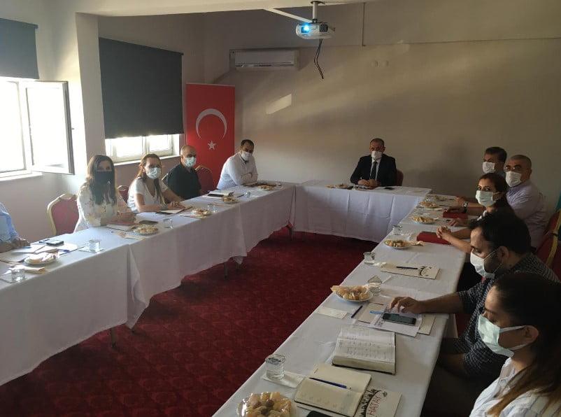 Vali Yardımcısı Başkanlığında Korona Virüs Toplantısı