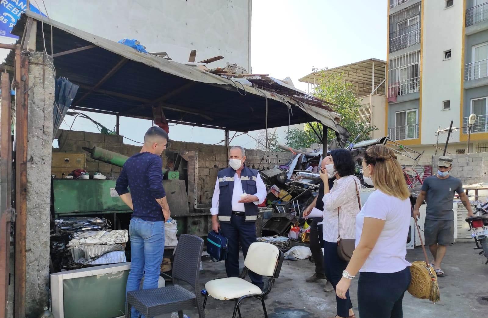 İskenderun Belediyesi Ekiplerinden Görüntü Ve Gürültü Kirliliği Denetimi