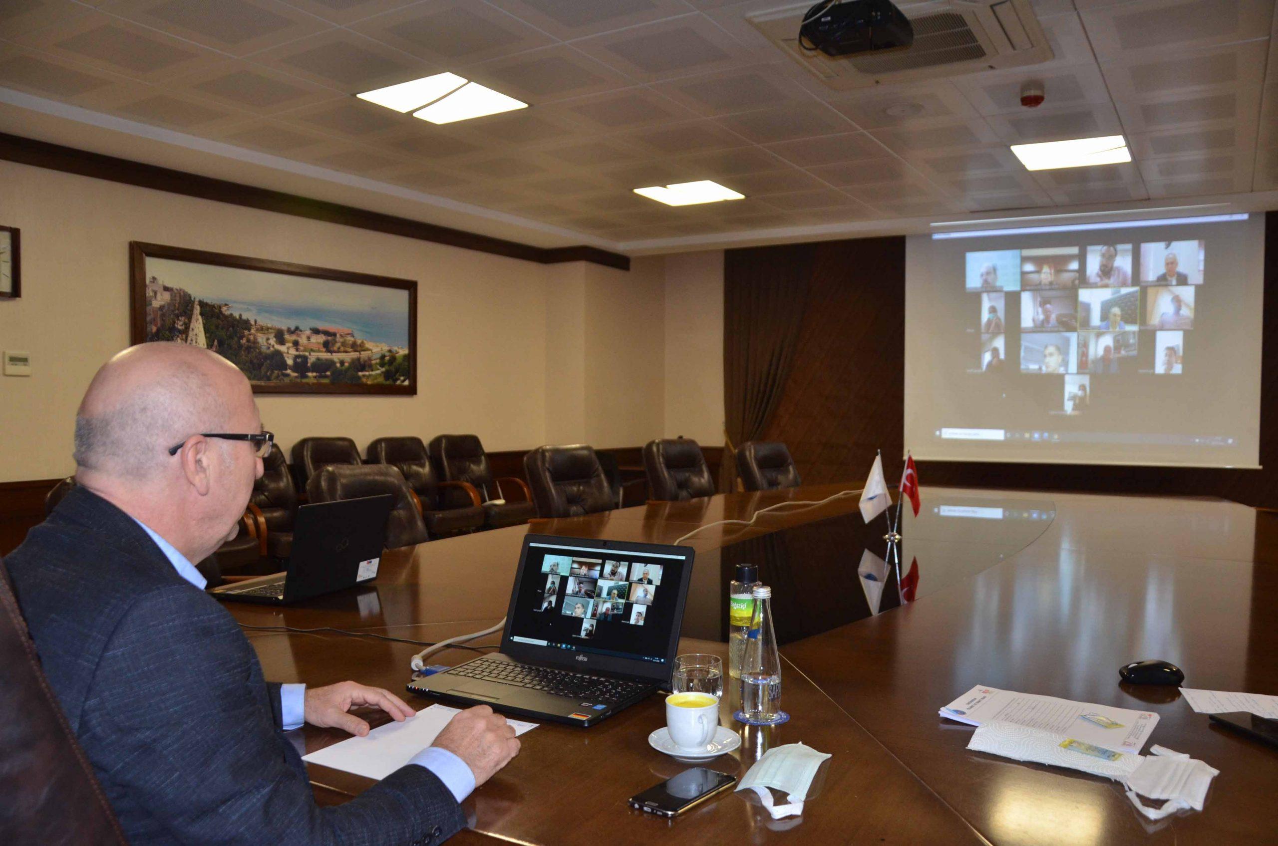 İTSO Başkan Yardımcısı Yeter Kent konseyi Toplantısına katıldı