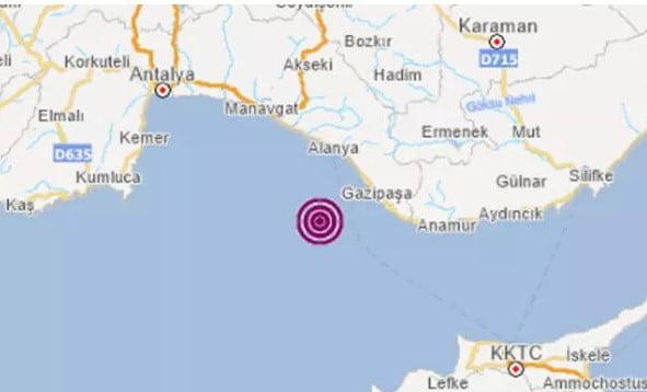 5.4 Şiddetindeki Deprem Hatay'da da Hissedildi