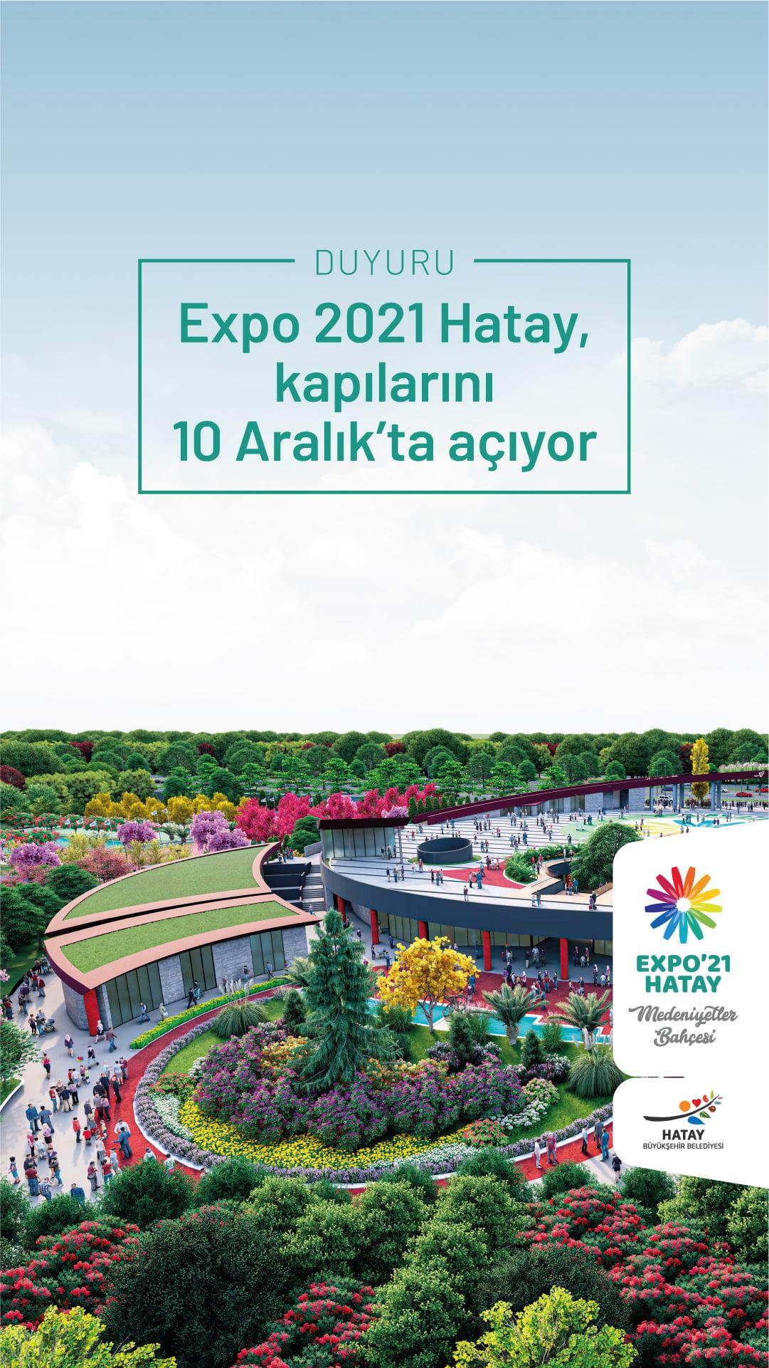 EXPO 2021 HATAYA COVID 19 NEDENIYLE YENI TARIH 1
