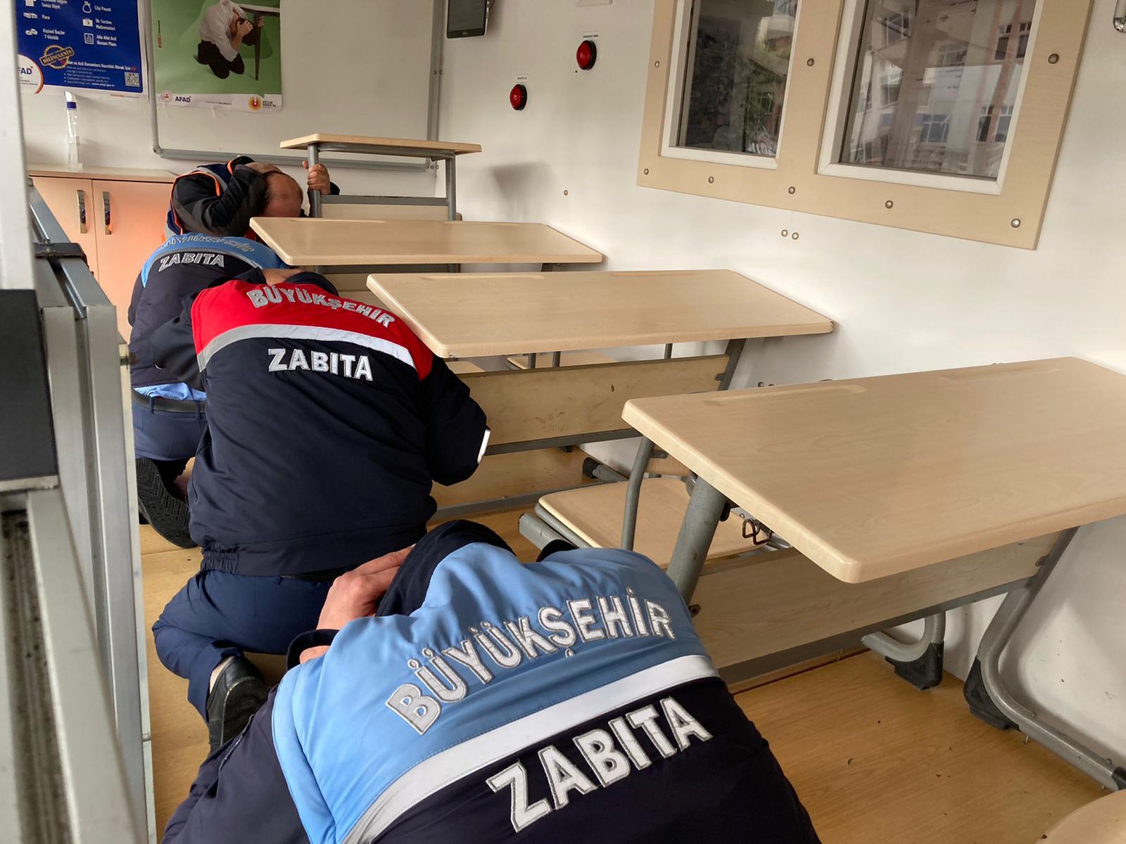HBB EKIPLERI DEPREM RISKINE KARSI HAZIR 9