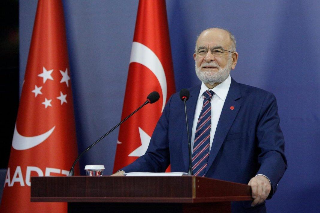 Saadet Partisi Genel Baskani Temel Karamollaoglu