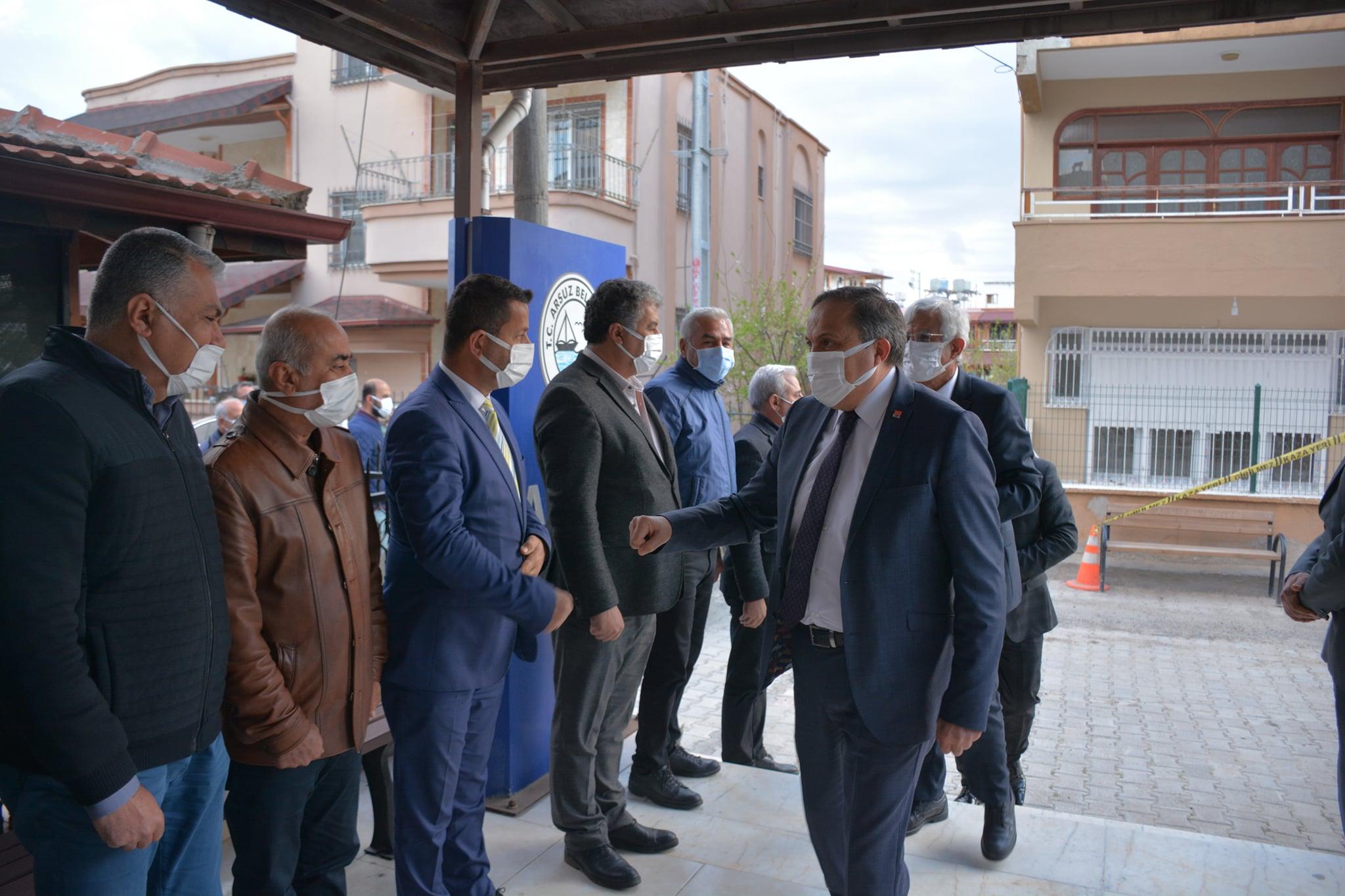 CHP GENEL BAŞKAN YARDIMCISI SEYİT TORUN ARSUZ'DA