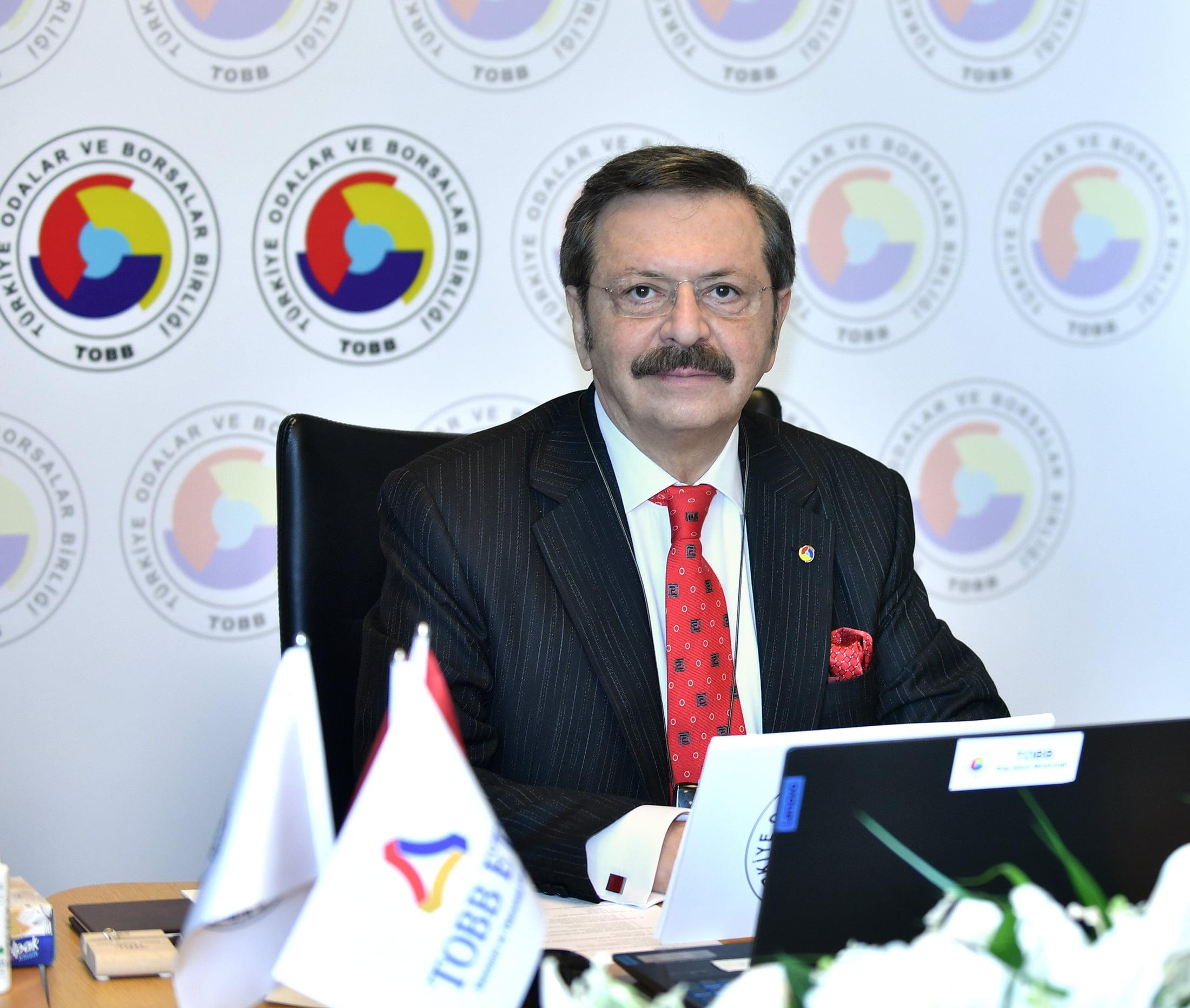 İTSO Başkanı Yılmaz, Video Konferans Aracılığıyla Akdeniz Bölge Toplantısına Katıldı