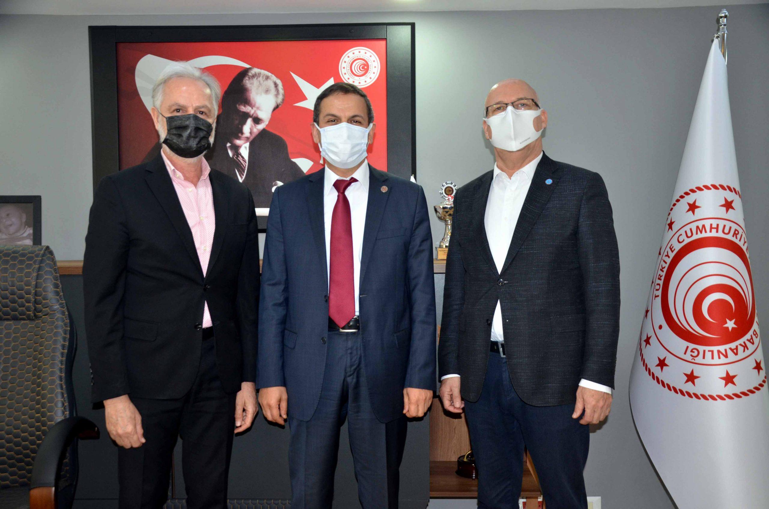 İTSO'dan Doğu Akdeniz Gümrük ve Dış Ticaret Bölge Müdürü Yıldırım'a Nezaket Ziyareti