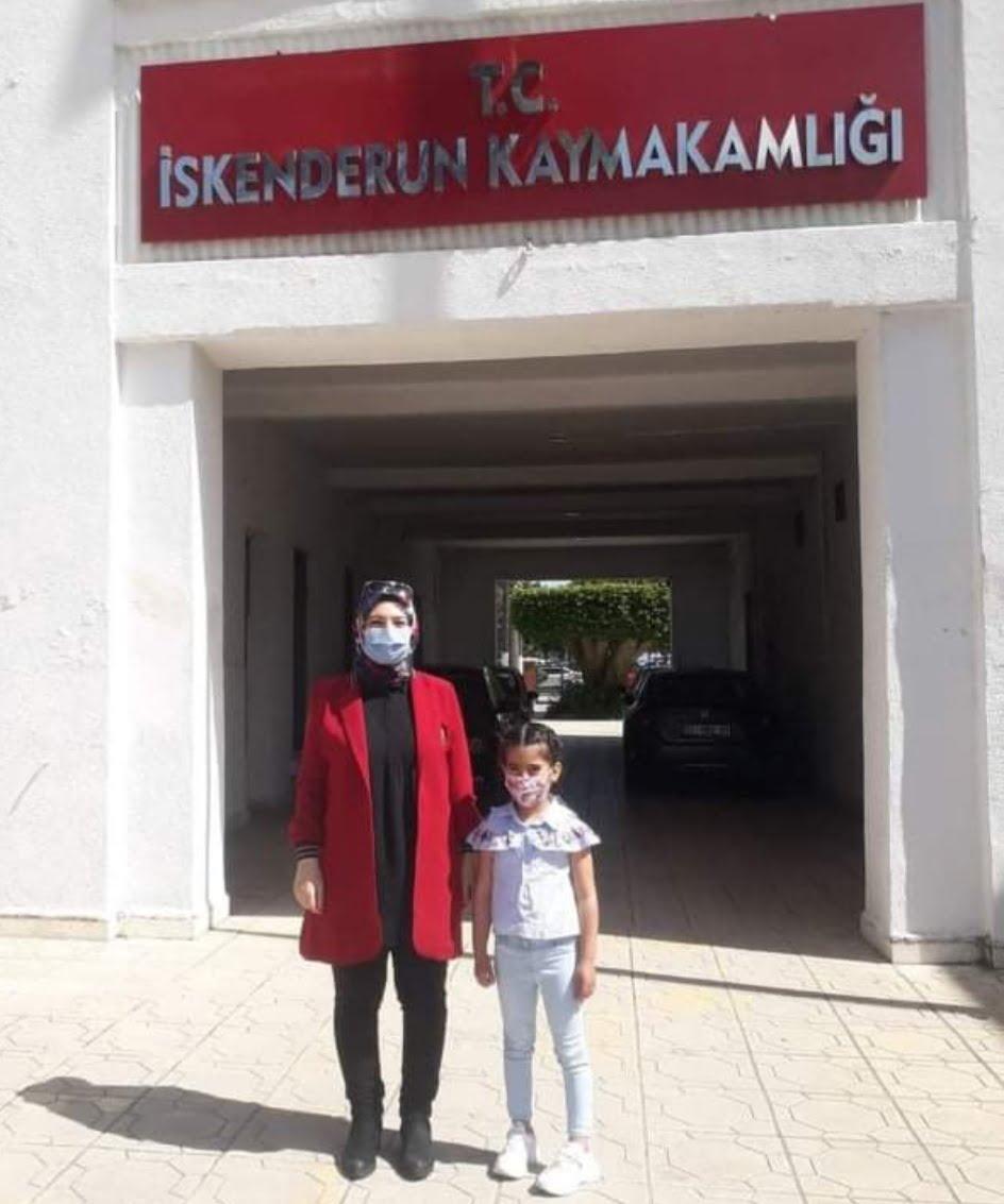 """""""23 nisan konulu"""" resim yarışmasında Anasınıfı öğrencisi Zümra Nida Bağış Birinci Oldu"""