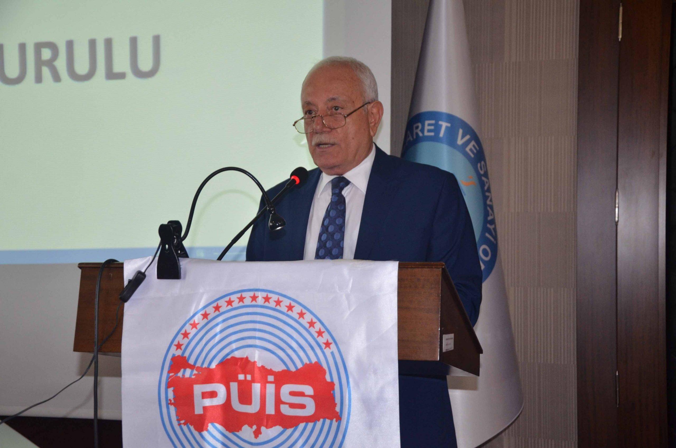 Petrol Ürünleri İşverenler Sendikası (PÜİS) Şubesi'nin 14. Genel Kurulunda Doğan Erten Güven Tazeledi