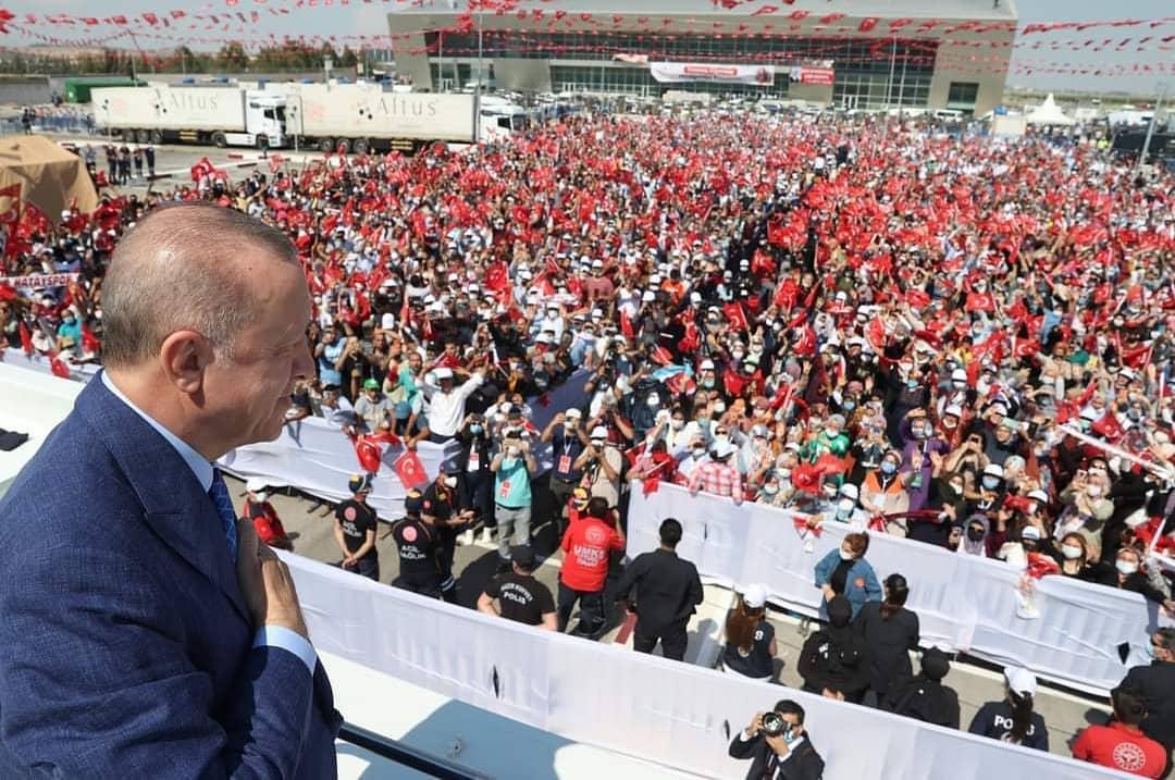 Türkiye Cumhurbaşkanı ve AK Parti Genel Başkanı Recep Tayyip Erdoğan, Hatay'da Projesi Biten Tesislerin Açılışını Gerçekleştirdi
