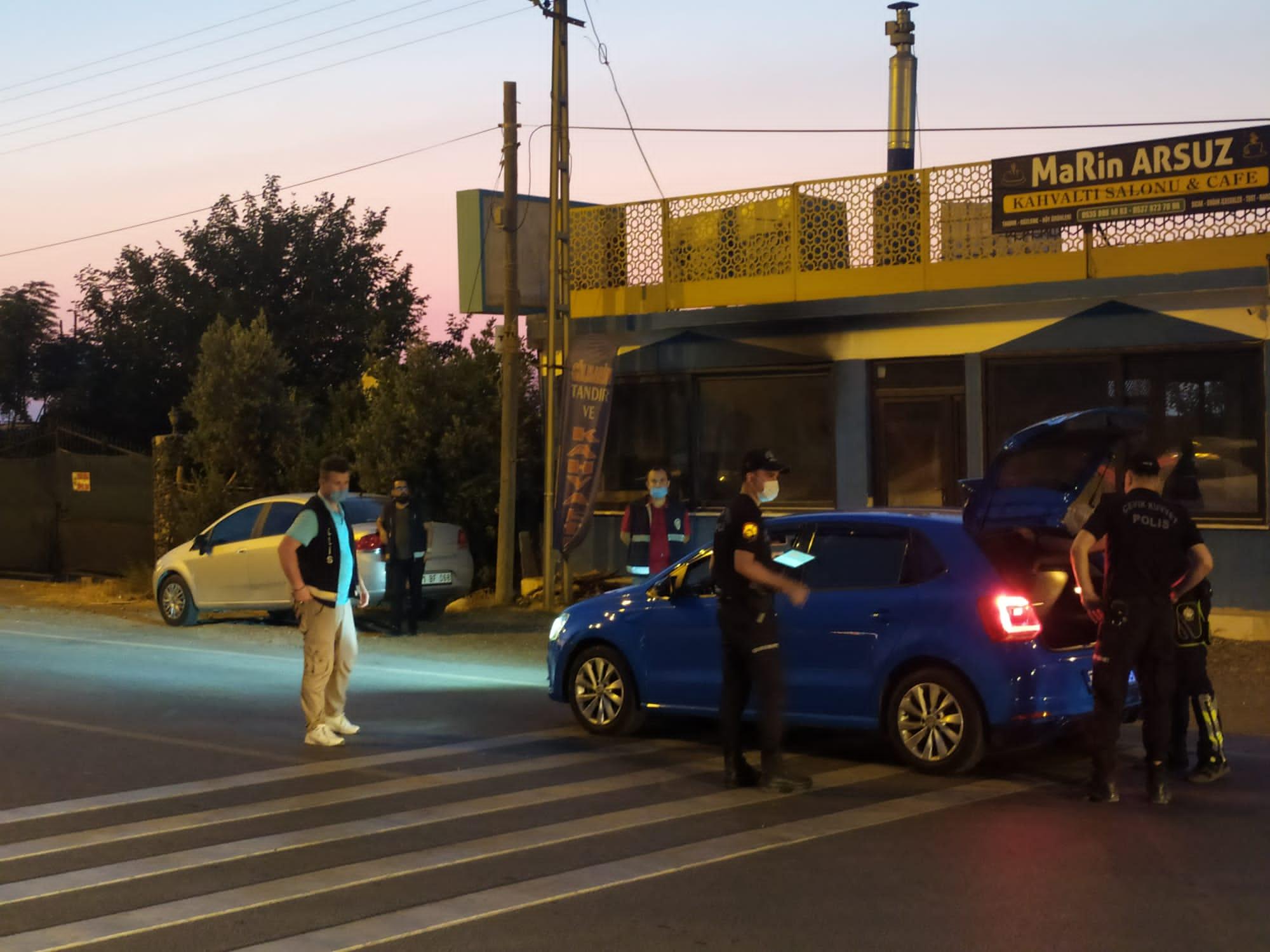 POLİS ARSUZ'DA KUŞ UÇURTMADI !