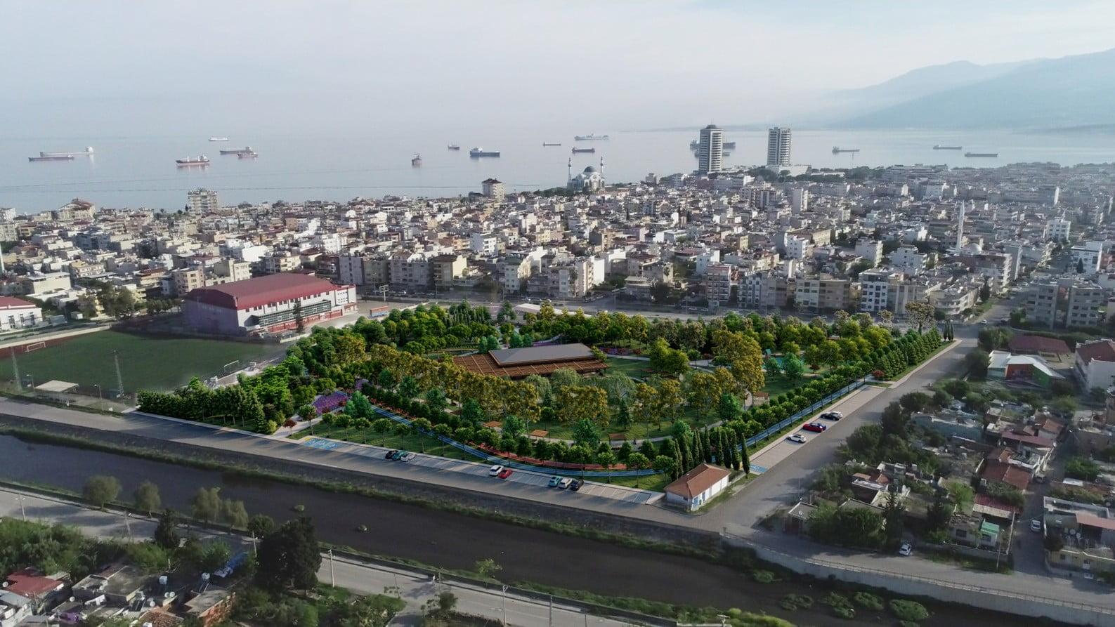 İskenderun'a Yeni Millet Bahçesi Yapılıyor