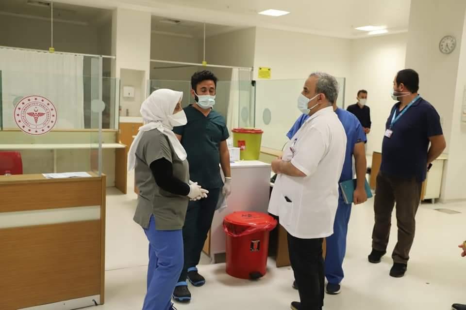 """""""Dr. Bayrakçıoğlu: Vatandaşa en iyi sağlık hizmetini sunmak için çalışıyoruz"""""""