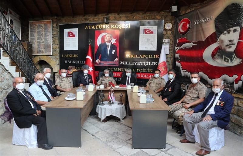 Jandarma Genel Komutanı Orgeneral Arif Çetin, Hatay'da