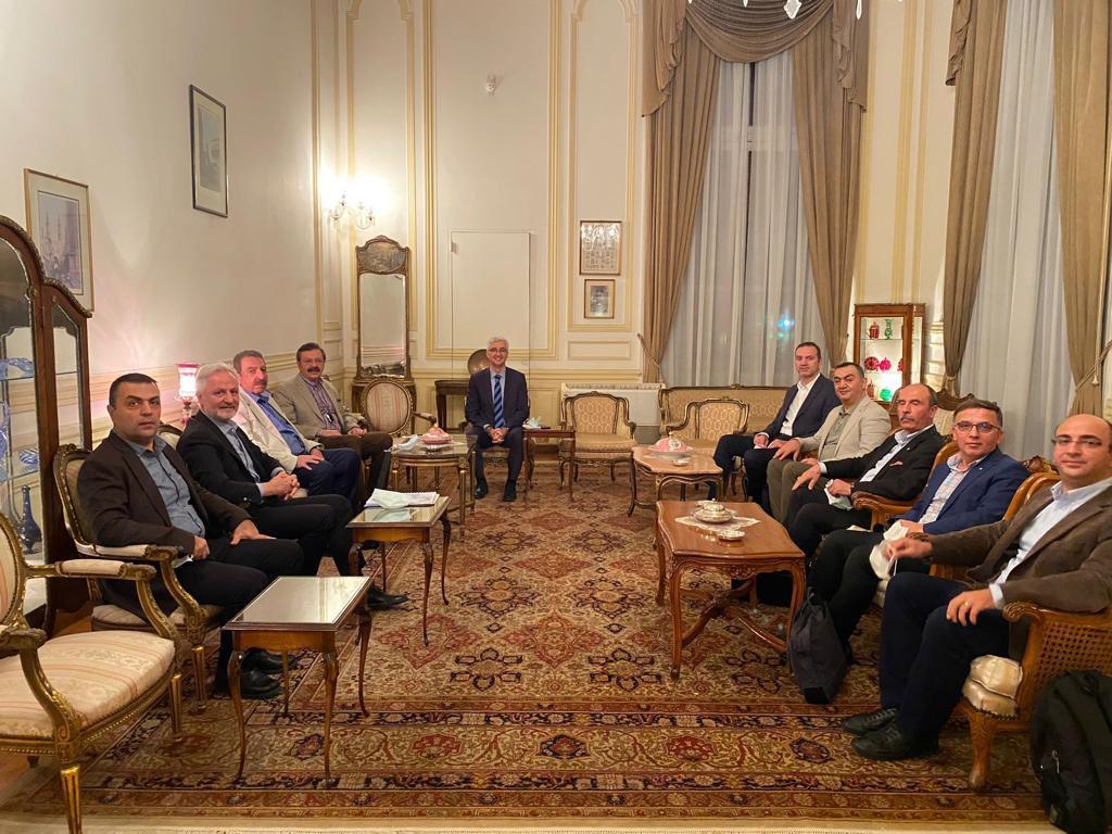 İTSO Başkan'ı Yılmaz TOBB Başkan'ı Hisarcıklıoğlu ve Beraberindeki Heyet ile Mısır da