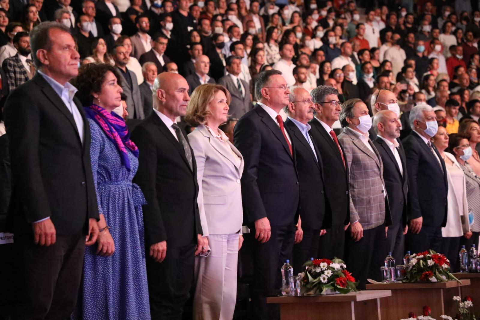 EXPO 2021 HATAY LANSMANI CHP LİDERİ KEMAL KILIÇDAROĞLU'NUN KATILIMIYLA YAPILDI